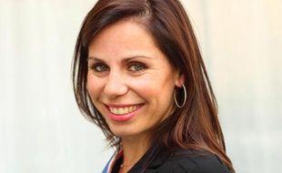 La jeune élue UMP du 15e arrondissement de Paris Géraldine Poirault-Gauvin.