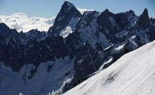 Le massif du Mont-Blanc, situé en Haute-Savoie (image d'illustration).