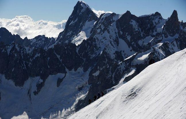 Haute-Savoie: Un homme décède en faisant de l'escalade dans le massif du Mont-Blanc