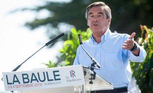 François Fillon s'était adressé aux adhérents républicains de Loire-Atlantique à La Baule, le 3 septembre.