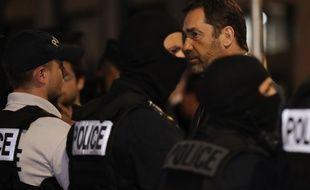 Le ministre de l'Intérieur, Christophe Castaner s'est rendu à Lyon, le 24 mai 2019 au soir, alors qu'une explosion a fait 13 blessés.