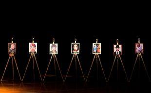 Hommage aux sept victimes de Mohamed Merah, dont Jonathan Sandler et ses deux fils, Arié et Gabriel