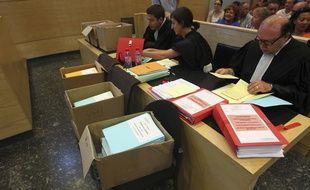 Les prud'hommes de Toulouse en juillet 2013, au moment de l'examen des licenciements de Molex.