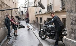 "Tournage ""Mission impossible: Fallout"" à Paris - Illustration."