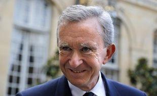 Le milliardaire français Bernard Arnault.