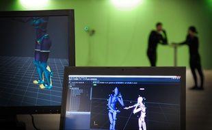 Marseille, le 9 octobre 2015, un nouveau studio d'effets spéciaux inauguré à Marseille.
