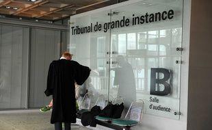 Le Tribunal de grande instance de Nanterre.