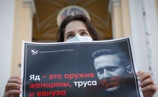 Manifestation pour Alexei Nalvany, illustration