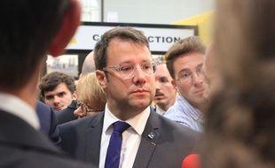 Le président de la région Bretagne Loïg Chesnais-Girard, ici lors du salon agricole Space, le 10 septembre 2019, à Rennes.