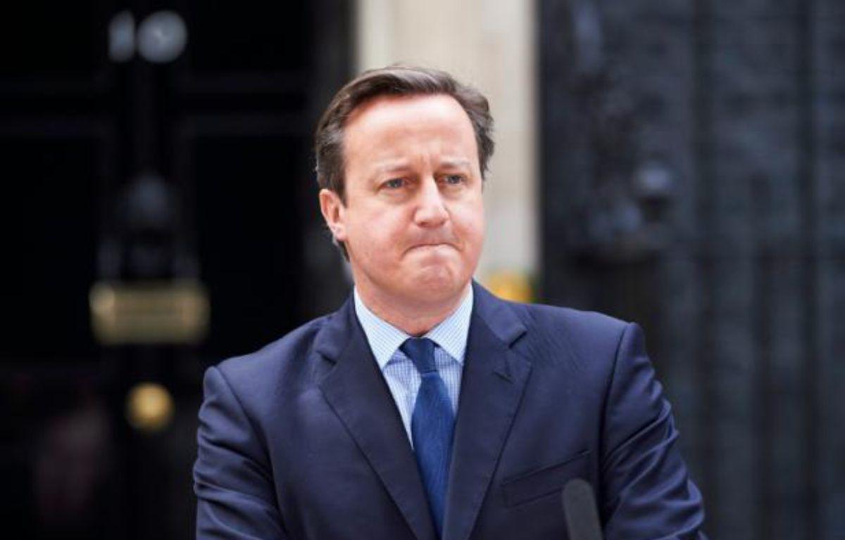 Le Premier ministre britannique David Cameron, le 13 novembre 2015 à Londres – NIKLAS HALLE'N AFP