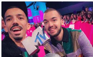 Florian et Olivio, les deux rappeurs toulousains, ont été sacrés meilleurs artistes français aux MTV Europe Musica Awards.