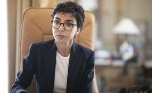 Rachida Dati dans son bureau de la mairie du 7e arrondissement de Paris, en mai 2019.