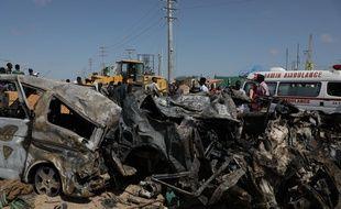L'attaque à la voiture piégée le 28 décembre à Mogadiscio a fait au moins 79 morts.