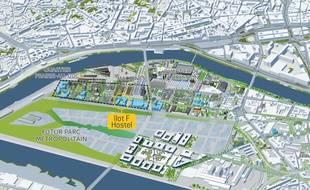 L'auberge de jeunesse ouvrira juste à côté des Machines de l'île à Nantes.