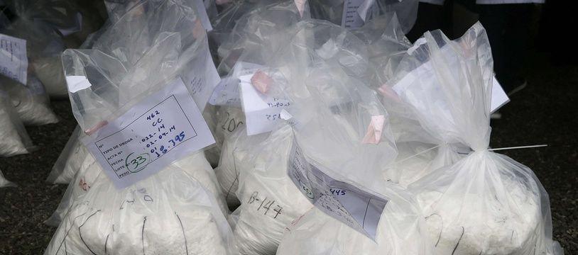 Des sacs de cocaïne (illustration).