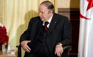 Le président algérien Abdelaziz Bouteflika le 15 juin 2015