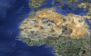 Timérine, région du nord du Mali, où sont retenus les otages français enlevés par Aqmi.