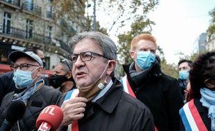 Jean-Luc Melenchon, le leader de La France Insoumise