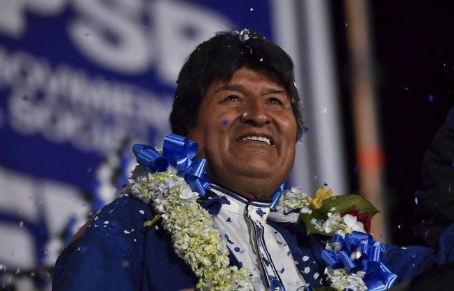 Bolivie: Evo Morales clame sa victoire mais laisse la porte ouverte à un éventuel second tour