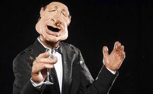 La marionnette de Jacques Chirac pour les Guignols de l'info