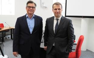 Vincent Charpin et Jean-Charles Simon, candidats en duo à la tête du Medef.