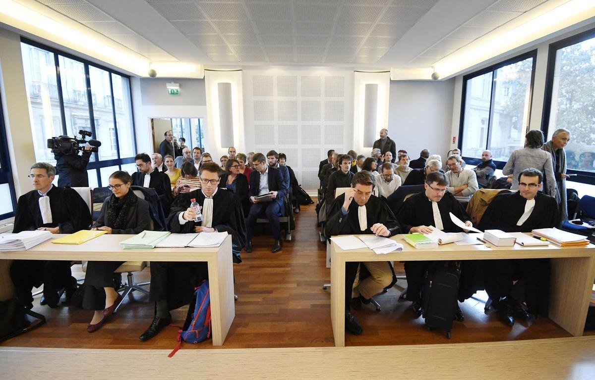 La cour administrative d'appel de Nantes, le 7 novembre 2016 – DAMIEN MEYER / AFP