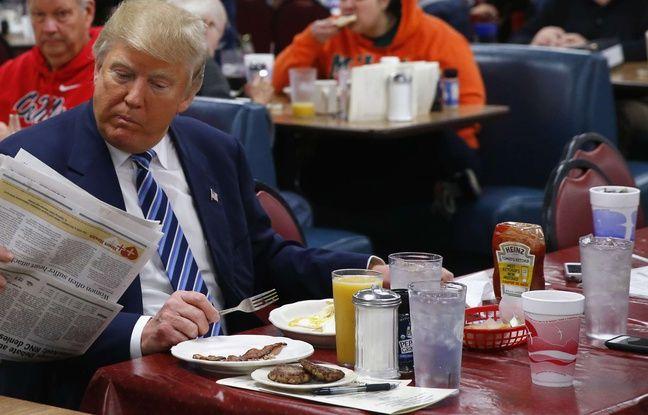 Malgré son régime fast-food, Trump est «en excellente santé», selon la Maison Blanche Nouvel Ordre Mondial, Nouvel Ordre Mondial Actualit�, Nouvel Ordre Mondial illuminati