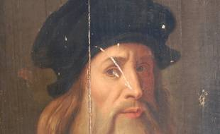 Auto-portrait de Léonard de Vinci