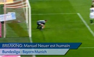 Le gardien allemand du Bayern Munich manuel Neuer.