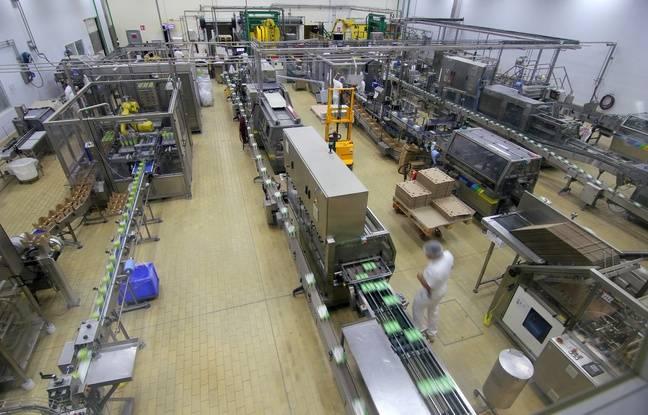 Le site de production du groupe Triballat Noyal, propriétaire de la marque Sojasun, installée à Châteaubourg.