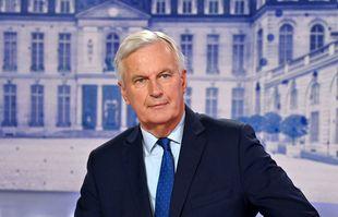 Michel Barnier, candidat à la présidence de la République, à Paris, le 13 octobre 2021.