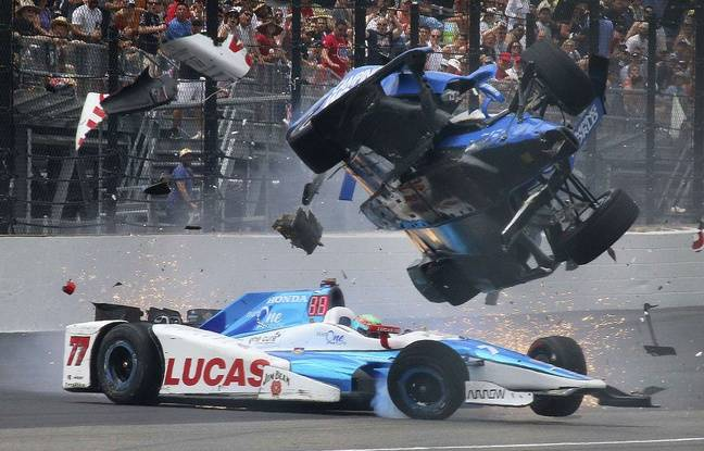 VIDEO. A Indianapolis, l'accident spectaculaire de Scott Dixon... qui s'en sort indemne