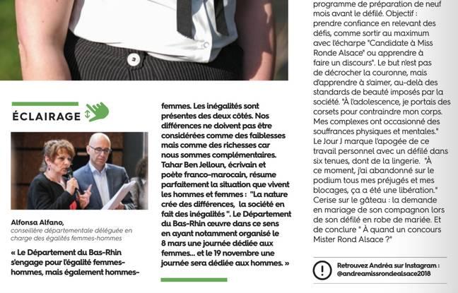 « Les inégalités sont présentes des deux côtés », affirme la conseillère départementale Alfonsa Alfano dans « Tout le Bas-Rhin »