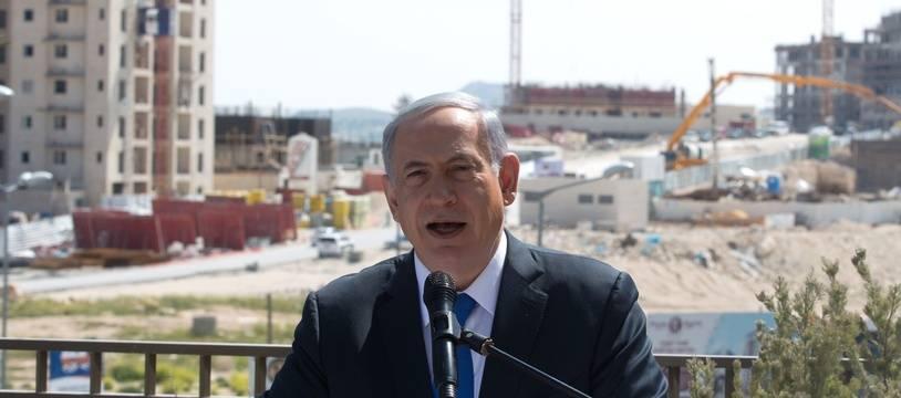 Le Premier ministre israélien Benyamin Netanyahu lors de la dernière ligne droite avant les élections lundi 16 mars 2015.
