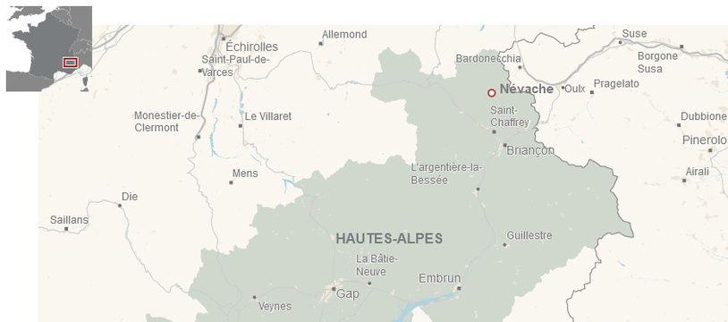 Le village de Névache (Hautes-Alpes).