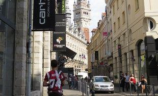 La rue Lepelletier à Lille