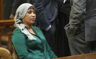 Nafissatou Diallo en pleine affaire DSK, à New York le 10 décembre 2012.