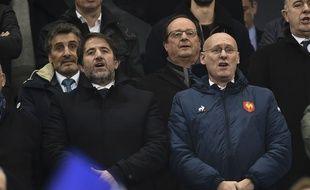 Bernard Laporte (à droite) et son bras droit Serge Simon (à gauche) ont désormais un nom face à eux.