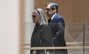 Paris, le 27 février 2020. Penelope et François Fillon arrivent au tribunal judiciaire de Paris où ils sont jugés pour «détournement de fonds publics».