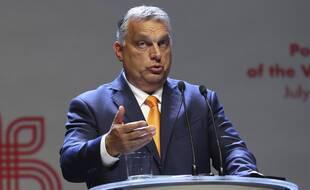 Le Premier ministre de Hongrie Viktor Orban, à Lublin en Pologne le 11 septembre 2020.