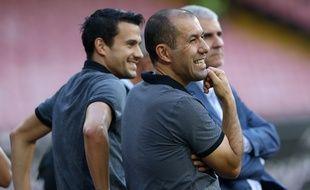 Leonardo Jardim, le coach de Monaco, le 7 août 2016.