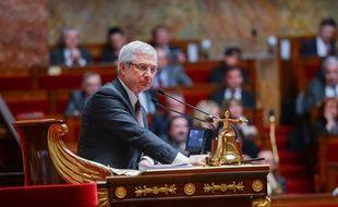 Le président de l'Assemblée nationale Claude Bartolone, le 2 avril 2013.