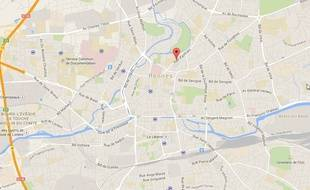 Le logement était situé rue d'Antrain à Rennes.