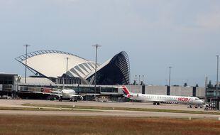 Photo d'illustration de l'aéroport Lyon Saint-Exupéry, ici en août 2020.