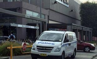 Une voiture de police australienne  - Illustration