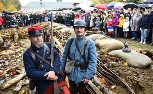 Une tranchée de la Première guerre mondiale a été reconstituée dans la Sarthe