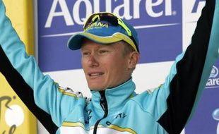 Le Kazakh Alexandre Vinokourov a remporté le premier grand contre-la-montre du Tour de France 2007, le 21 juillet à Albi (Tarn).