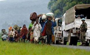Avec 350.000 déplacés de guerre depuis le début de l'année, le Nord-Kivu s'est installé dans une crise humanitaire permanente, désormais comparable à celle du Darfour et qui favorise les tensions ethniques dans cette province de l'est de la République démocratique du Congo (RDC).