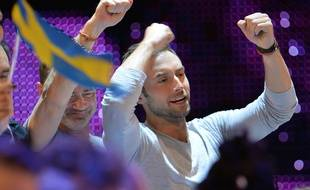 Le Suédois Mans Zelmerlow a gagné la 60 e édition de l'Eurovision