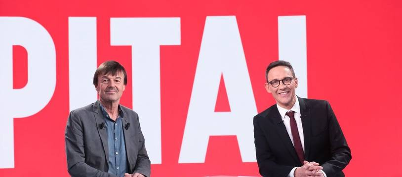 Nicolas Hulot et Julien Courbet dans le numéro de Capital diffusé le 26 janvier 2019 sur M6.